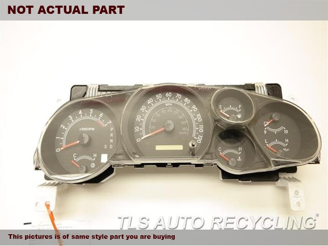 2008 Toyota Sequoia Speedo Head/Cluster. (CLUSTER), MPH, 5.7L ENGINE, TOW PA
