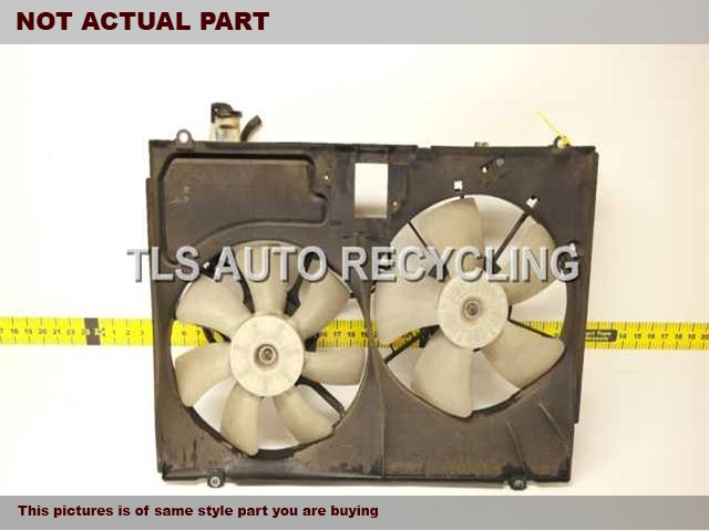 2006 Toyota Sienna Rad Cond Fan Assy. 16363-0A150 16363-0A210RADIATOR FAN ASSEMBLY 16711-0A240