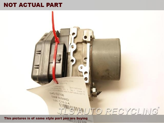 ACTUATOR AND PUMP ASSEMBLY, 6 FWD