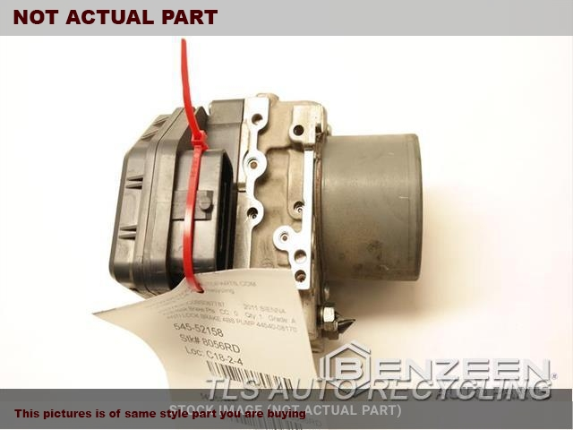 3.5L,ACTUATOR AND PUMP ASSEMBLY, 6