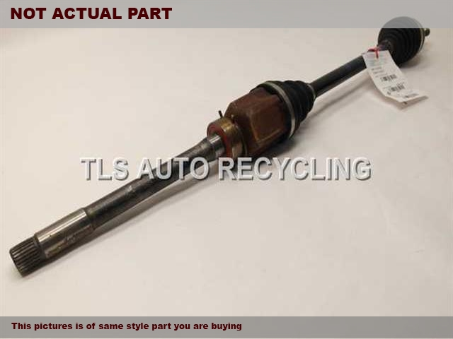 RH,3.5L,FRONT AXLE, 6 CYLINDER, AWD