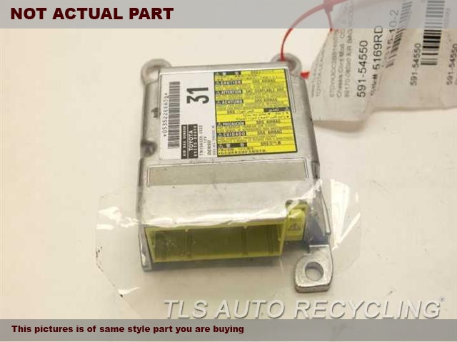 2011 Toyota Sienna Chassis Cont Mod. 89170-08090 AIR BAG MODULE