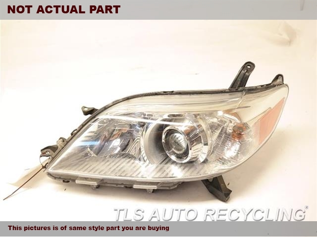 2011 Toyota Sienna Headlamp Assembly. DRIVER HEADLAMP COMPLETE 81150-08030