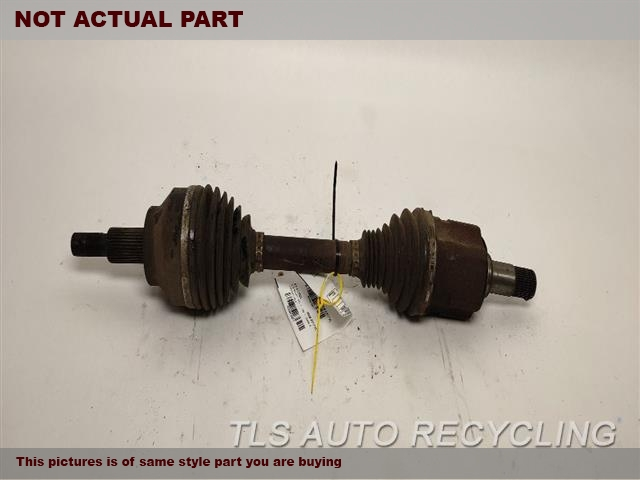 LH,FRONT AXLE, (6 CYLINDER), FWD