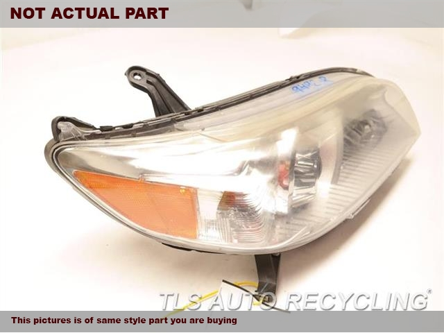 PASSENGERS HEADLAMP ASSEMBLY