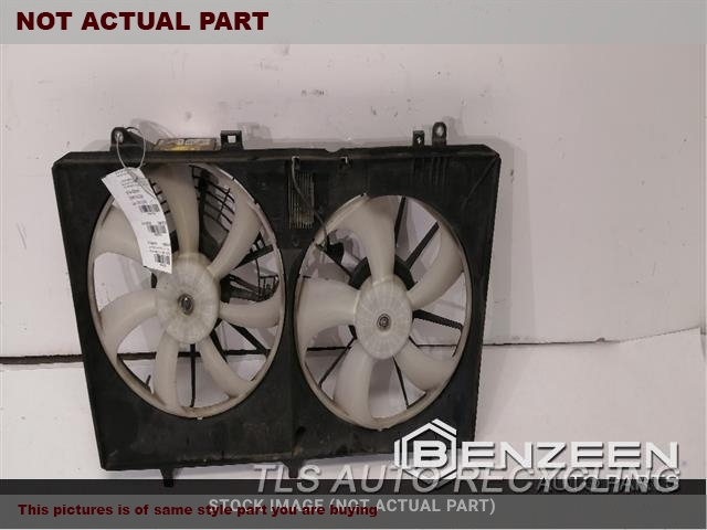 2011 Toyota Sienna Rad Cond Fan Assy  FAN ASSEMBLY, 6 CYLINDER, W/O TOW