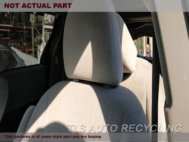 GRAY DRIVER FRONT CLOTH SEAT