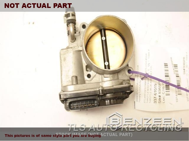 THROTTLE VALVE ASSEMBLY, 3.5L