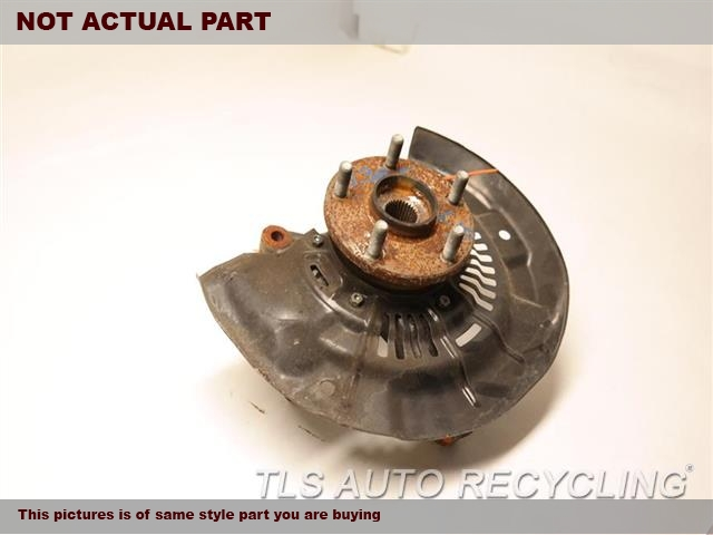 2011 Toyota Sienna Spindle Knuckle, Fr