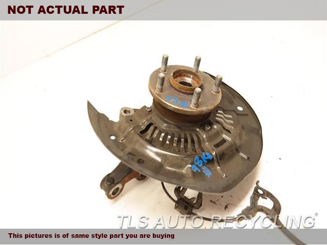 2011 Toyota Sienna Spindle Knuckle, Fr 43211-08030 43502-08030 PASSENGER FRONT KNUCKLE W/HUB