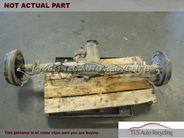 2004 Toyota Tacoma Rear axle assembly. W/LOCK REAR DIFFERENTIAL, 4.10 RATIOREAR AXLE HOUSING ASSY 42110-35890