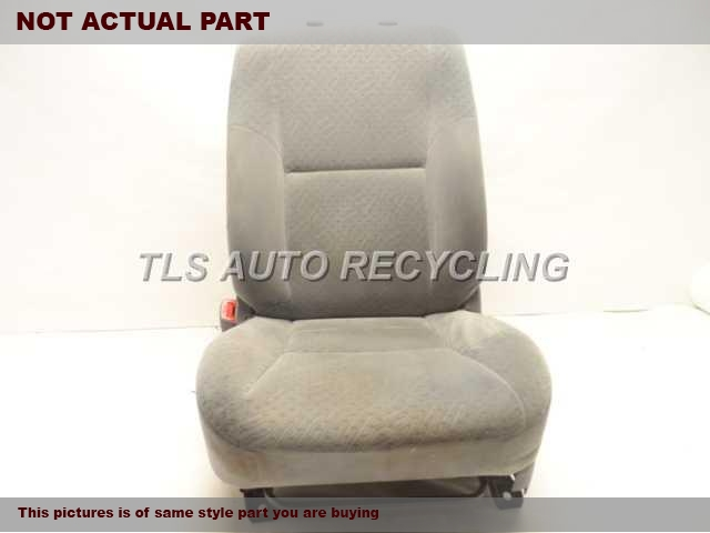 2006 Toyota Tacoma Seat, Front. GREY DRIVERS FRONT SEAT ASSEMBLY