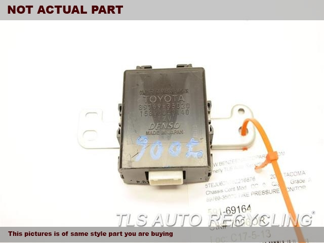2006 Toyota Tacoma Chassis Cont Mod. 89769-35020 TIRE PRESSURE MONITOR