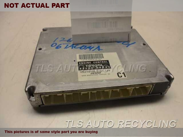 2006 Toyota Tacoma Eng/Motor Cont Mod. 89661-04B80 ENGINE CONTROL COMPUTER