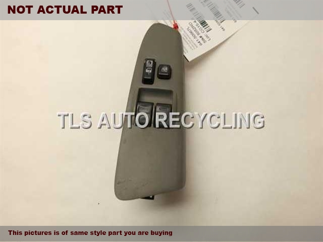 2006 Toyota Tacoma Door Elec Switch. MASTER WINDOW SWITCH 84820-04041