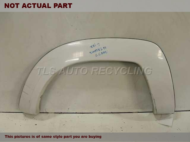 2006 Toyota Tacoma Quarter Moulding. 75873-04050SILVER PASSENGER REAR BED FLARE