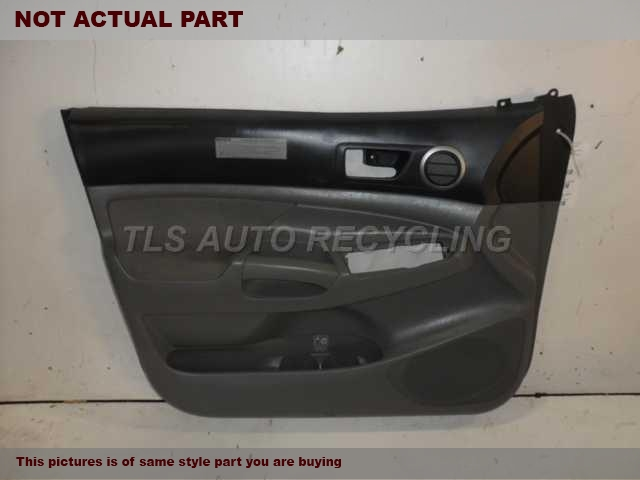 2006 Toyota Tacoma Trim Panel, Fr Dr. 67610-04310-B0GRAY PASSENGER FRONT DOOR TRIM PANEL