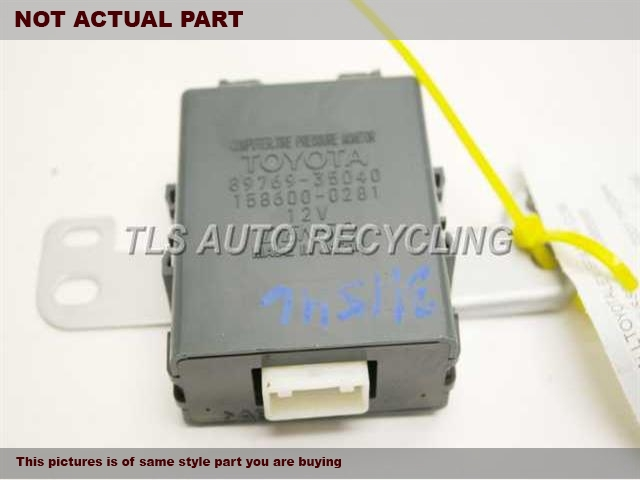 Service Manual Tire Pressure Monitoring 2007 Toyota