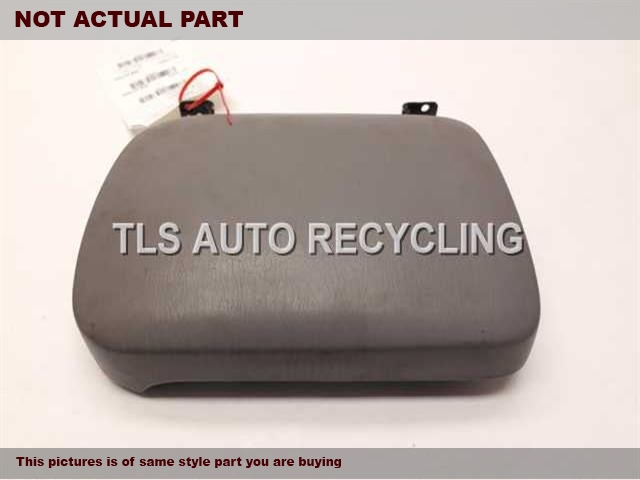 2006 Toyota Tacoma Console front and Rear. GRAY CONSOLE LID 58910-AD030-B0