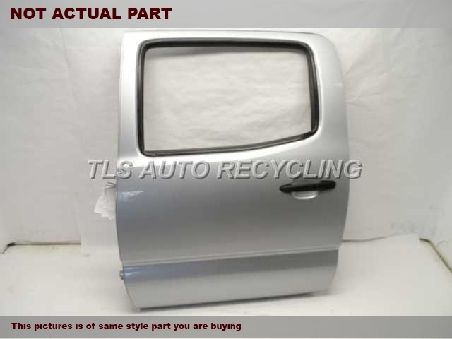 2006 Toyota Tacoma Door Assembly, Rear side. SILVER DRIVER REAR DOOR