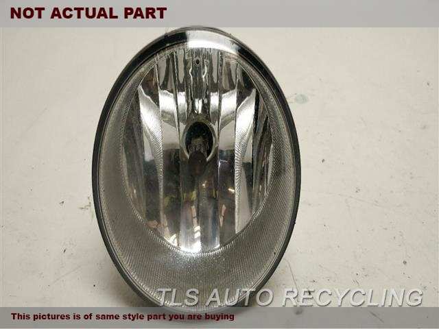 2007 Toyota Tundra Front Lamp. FOG-DRIVING, (BUMPER MOUNTED)