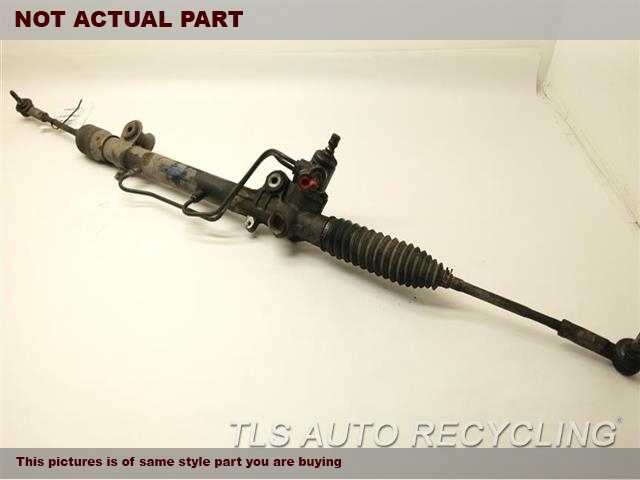 4.0L,POWER RACK AND PINION, 4X2, X
