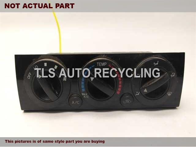2013 Toyota Tacoma Temp Control Unit. TEMPERATURE CONTROL 55900-04070