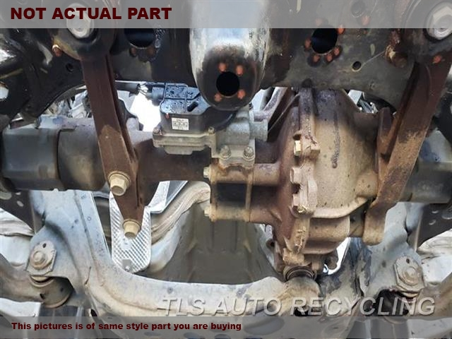 2007 Toyota FJ Cruiser Rear differential. FRONT AXLE, 3.73 RATIO (AT)