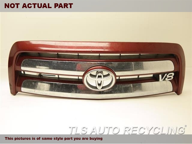 2004 Toyota Tundra Grille. MISSING EMBLEMWHITE/CHROME GRILLE 53100-0C100-A0