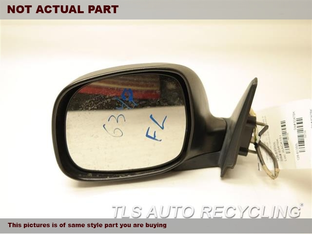 2004 Toyota Tundra Side View Mirror. 87940-0C040DRIVER CHROME SIDE VIEW MIRROR