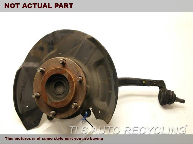 2004 Toyota Tundra Spindle Knuckle, Fr. 43201-34030 43502-0C010PASSENGER FRONT KNUCKLE W/HUB