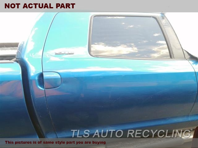 2011 Toyota Tundra Door Assembly, Rear side. 000,RH,GRN,PW,PL,EXTENDED CAB