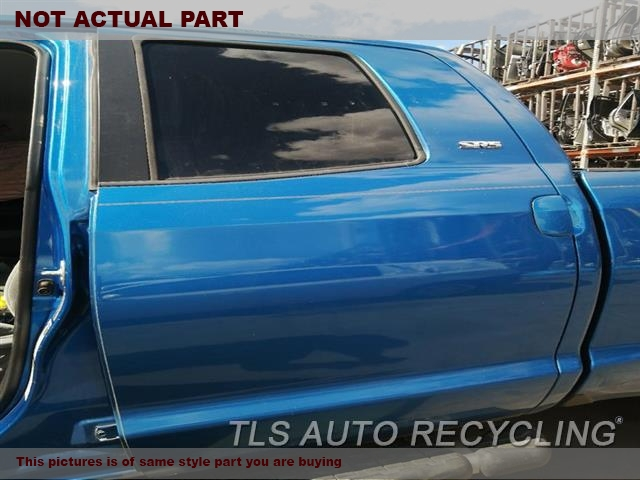 2007 Toyota Tundra Door Assembly, Rear side. 000,LH,GLD,PW,PL,EXTENDED CAB
