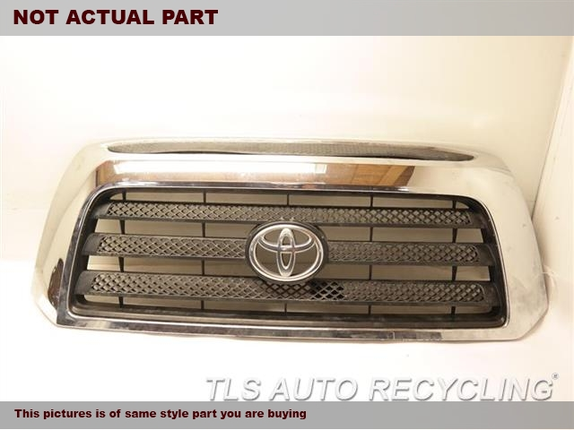 2007 Toyota Tundra Grille. CHROME WRINKLESR5, SPORT PACKAGE