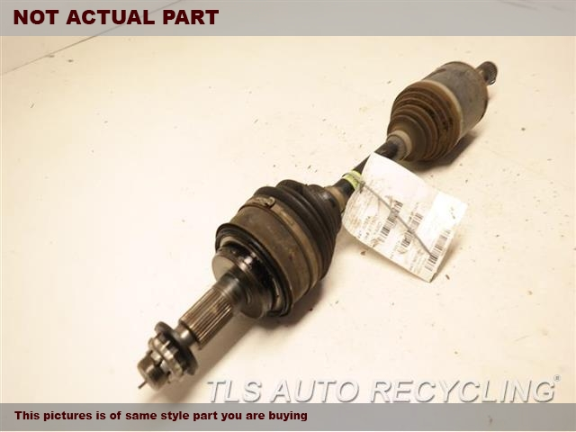 FRONT AXLE, OUTER ASSEMBLY