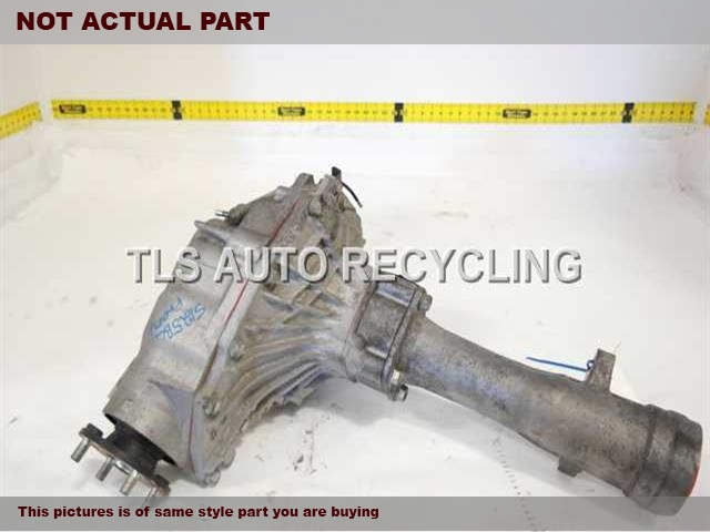 2013 Toyota Tundra Rear differential. RATIO 4.10REAR DIFFERENTIAL 41110-0C020
