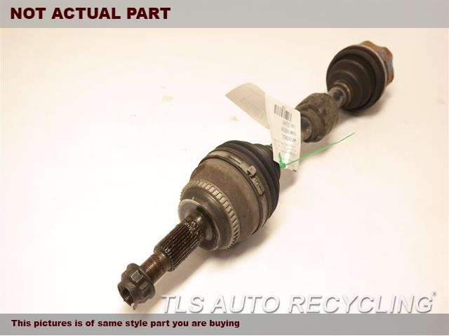2013 Toyota Venza Axle Shaft. LH,FRONT AXLE, AWD, 6 CYLINDER, L.