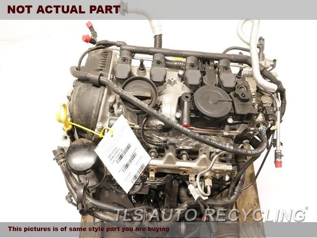 2015 Volkswagen CC VOLKS Engine Assembly. ENGINE ASSEMBLY 1 YEAR WARRANTY