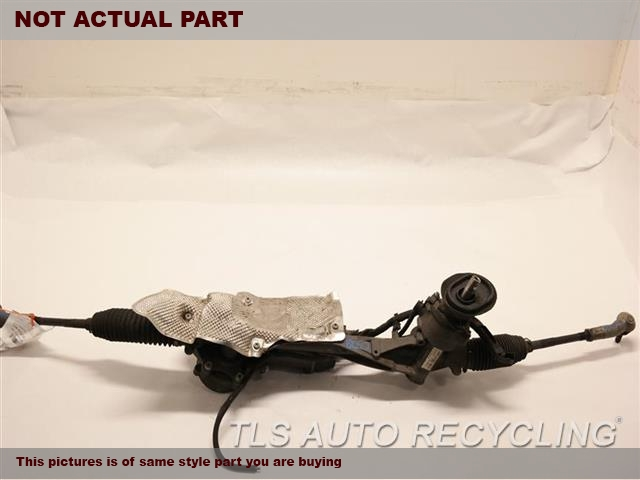 2015 Volkswagen GOLF GTI Steering Gear Rack. POWER RACK AND PINION, (ELECTRIC PO