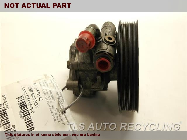 2009 Volkswagen TOUAREG PS Pump/Motor. POWER STEERING PUMP 7L6422154E