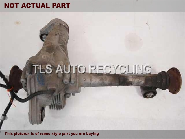 2009 Volkswagen TOUAREG Rear differential. FRONT DIFFERENTIAL 0AA409508H