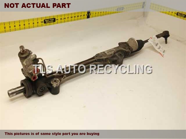 2009 Volkswagen TOUAREG Steering Gear Rack. W/O RIGHT INNER BOOT AND OUTER TIE RODSTEERING GEAR RACK 7L6422063B