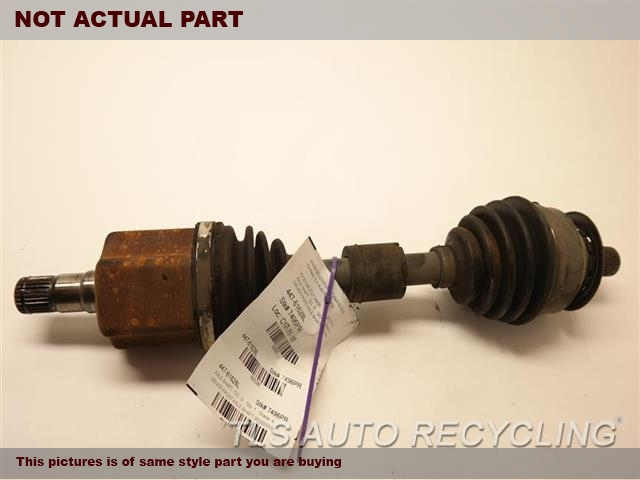 2007 Volvo C70 Axle Shaft. LH,FRONT, CONV, (TURBO), AT, L.