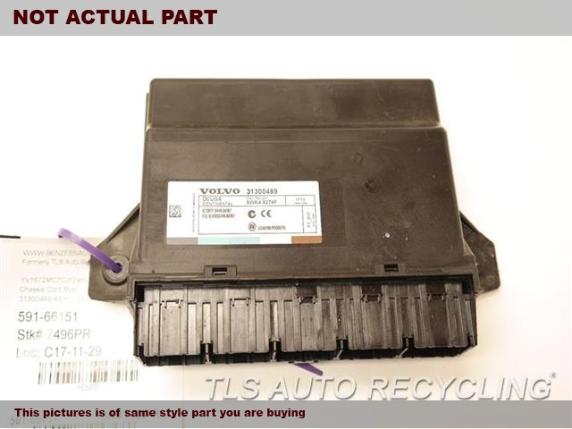 2012 Volvo C70 Chassis Cont Mod. 31252254 BODY CONTROL MODULE