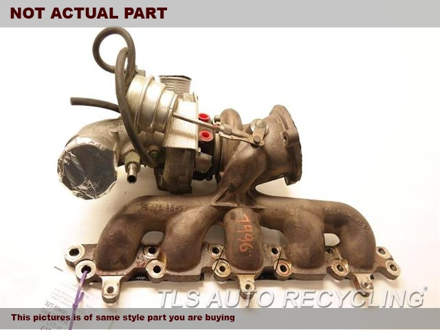 2012 Volvo C70 Exhaust Manifold. 8603991EXHAUST MANIFOLD W/TURBO CHARGER