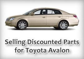 Depend on Me: TLS Auto Recycling Now Makes OEM Parts Available for Toyota Avalon
