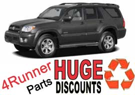 Technology and Capability: TLS Auto Recycling Now Selling Toyota 4Runner Parts on Huge Discounts