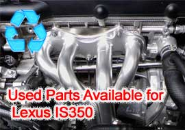 TLS Auto Recycling Now Makes Used Parts Available for Lexus IS350