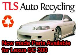 TLS Auto Recycling Now made Parts Available for Lexus SC 300