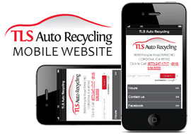 TLS Auto Recycling Announces Launch of New Mobile Website